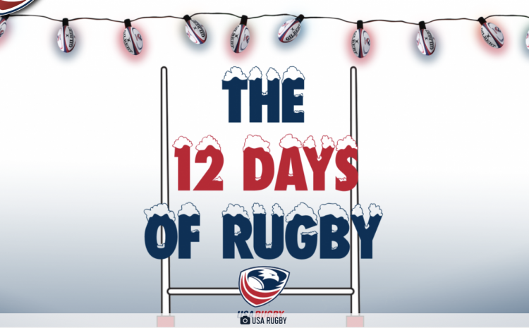 "USA RUGBY GETS IN THE HOLIDAY SPIRIT WITH ""12 DAYS OF RUGBY"" MEMBER GIVEAWAY"