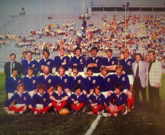 US Rugby Hall of Fame Chairman's Award Winner: 1976 USA Men's Team vs Australia