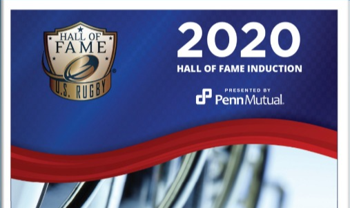 THE 2020 U.S. RUGBY HALL OF FAME INDUCTION PROGRAM IS READY FOR VIEWING