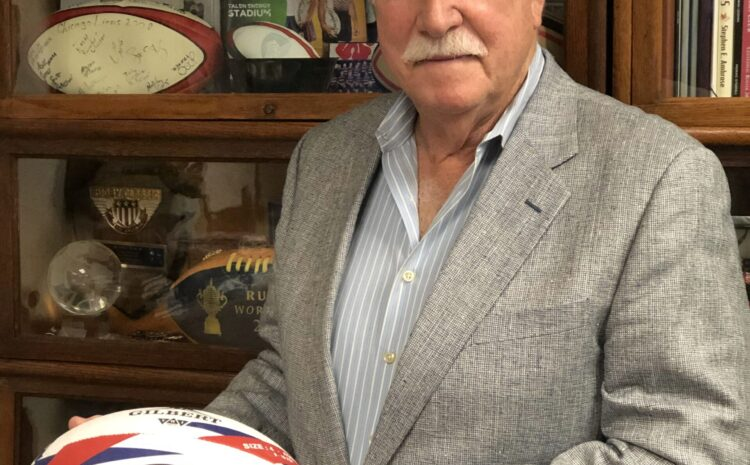 US Rugby Hall of Fame Lifetime Achievement Award Recipient: Bob Erwin