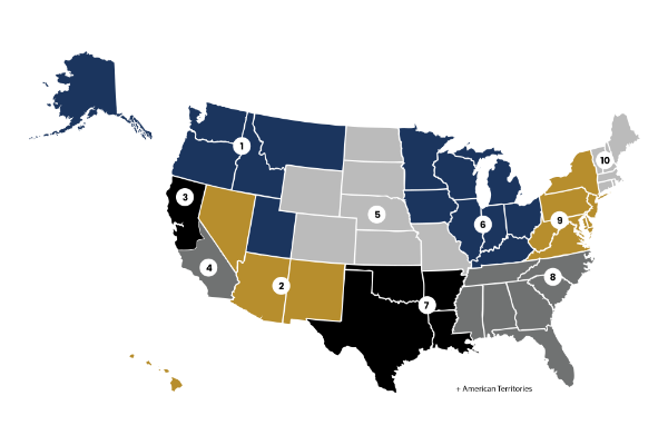 US Rugby Foundation Announces 10 Geographic Regions